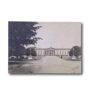 Postcard - 19th Century Old College RMAS from a distance