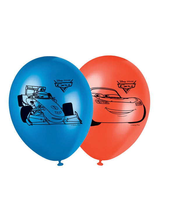 Ballons Cars™ x 8 - La Boutique Bleue