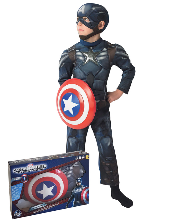 Coffret panoplie Captain America™ The Winter Soldier™ enfant