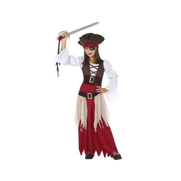costume pirate fillette