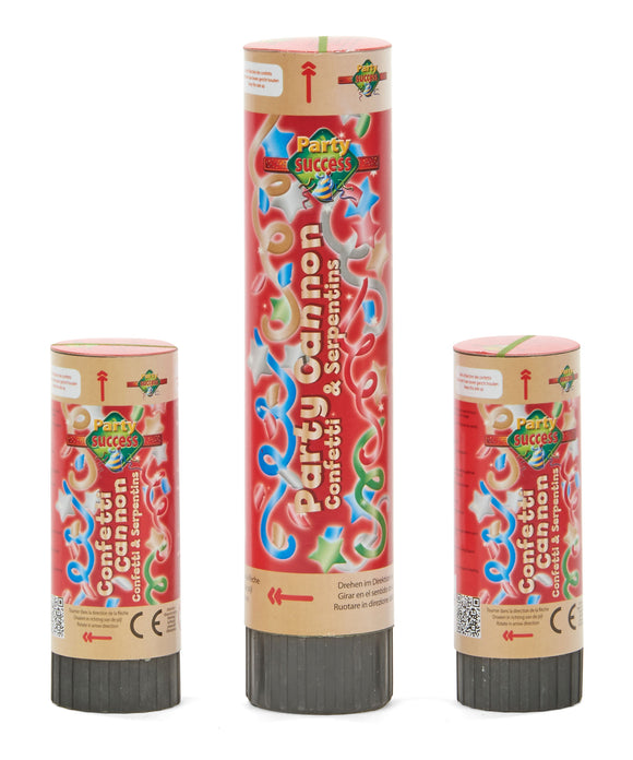 Kit de 3 canons à confettis - La Boutique Bleue