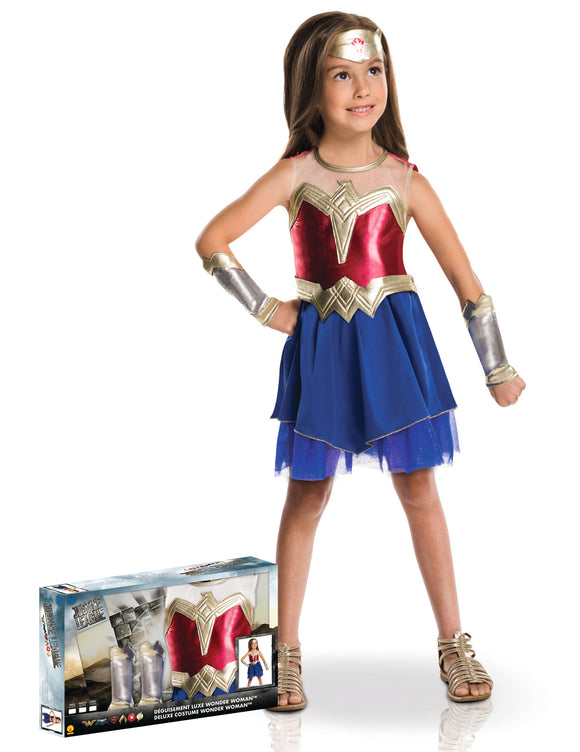 Coffret panoplie luxe Wonder Woman™ - La Boutique Bleue