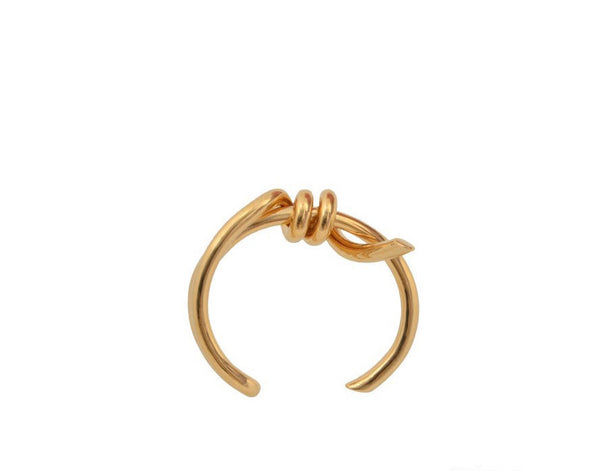 Classic Twisted Gold Bracelet - Damnbling