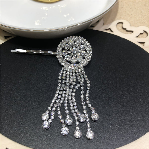 Diamond Tassel Hair Pin - Damnbling
