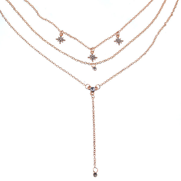 Petite Star Charm Layering Necklace - Damnbling