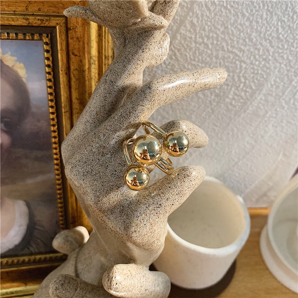 Metallic Bead Ring - Damnbling