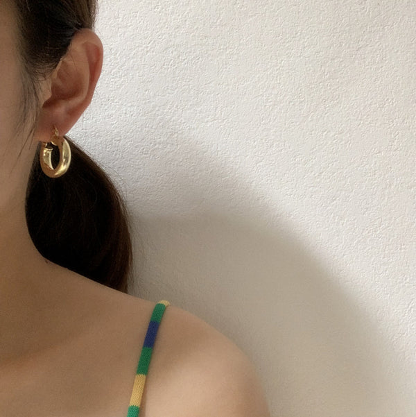 Classic Mini Hoop Earrings - Damnbling