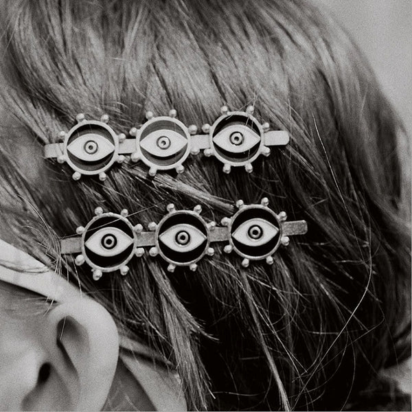 Black Evil Eye Hair Pin - Damnbling