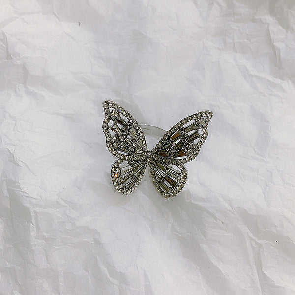 Butterfly Diamond Bling Ring - Damnbling
