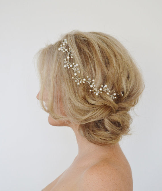 Pearl Branches Headband - Damnbling