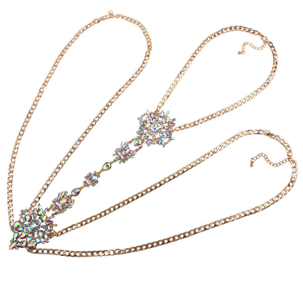 Diamond Jewel Body Chain - Damnbling