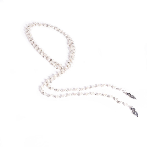 Petite Pearls Layering Necklace - Damnbling