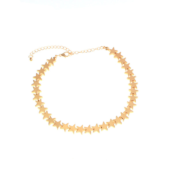 Petite Stars Short Necklace - Damnbling