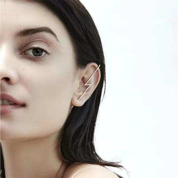 Diamond Lightening Ear Cuff - Damnbling