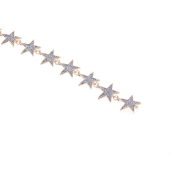 Star Long Pendent Necklace - Damnbling