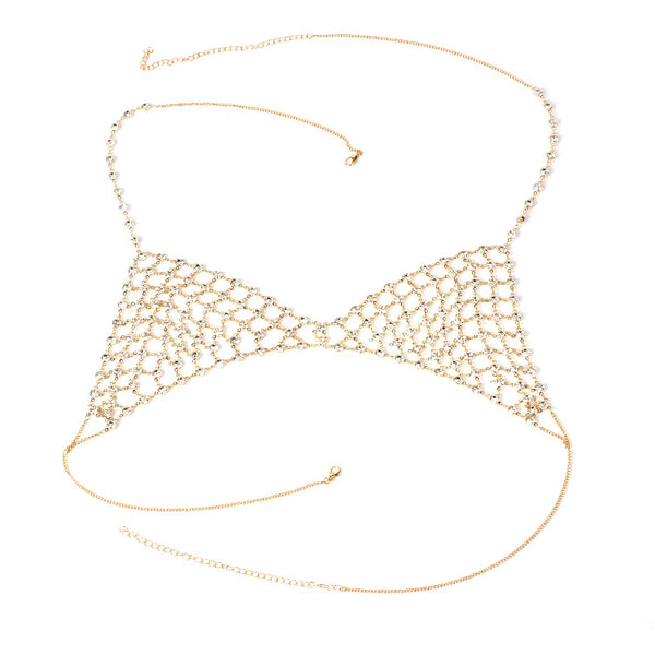 Diamond Top Bikini Chain - Damnbling