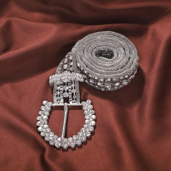 Luxury Diamond Statement Belt - Damnbling