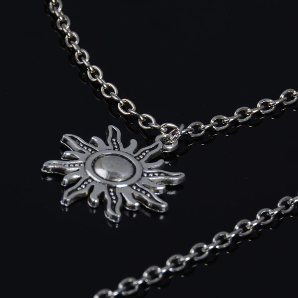 Cresent Long Layering Necklace - Damnbling