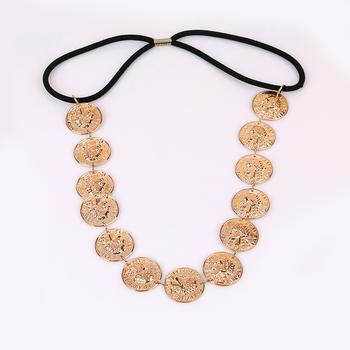 Classic Gold Coin Headband - Damnbling