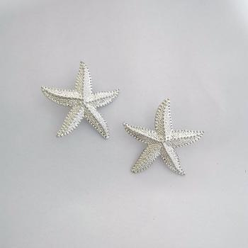 Golden Statement Sea Star Earrings - Damnbling