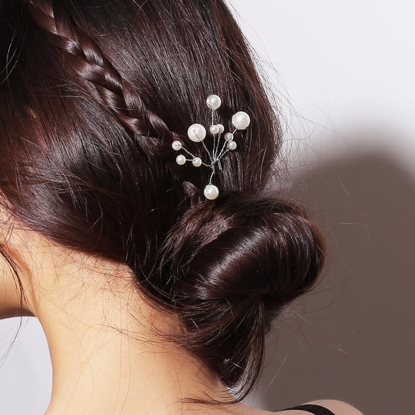 Pearl Branches Hair Pin - Damnbling
