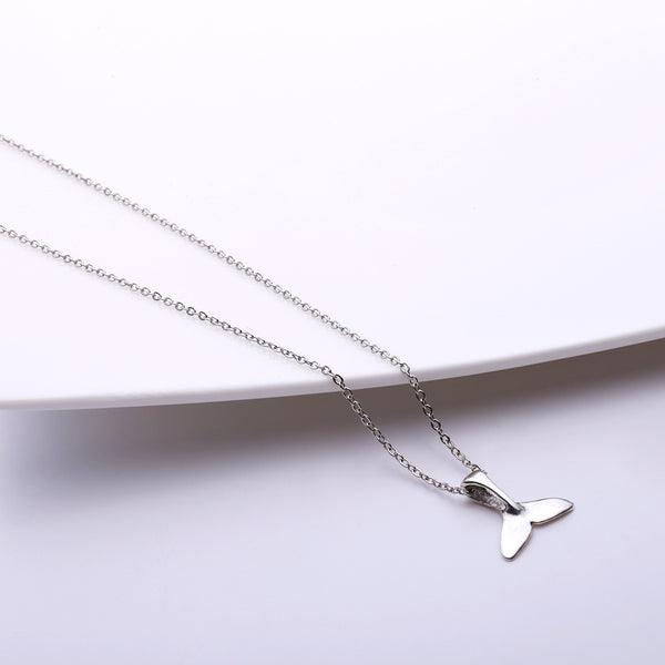 Fish Tail Pendent Necklace - Damnbling