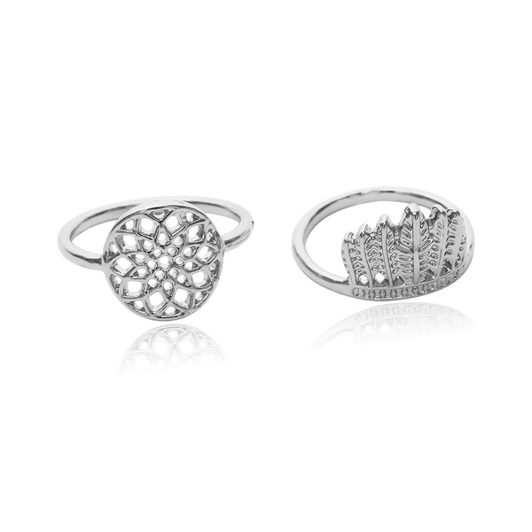 Moon Goddess Exotic Ring Set - Damnbling