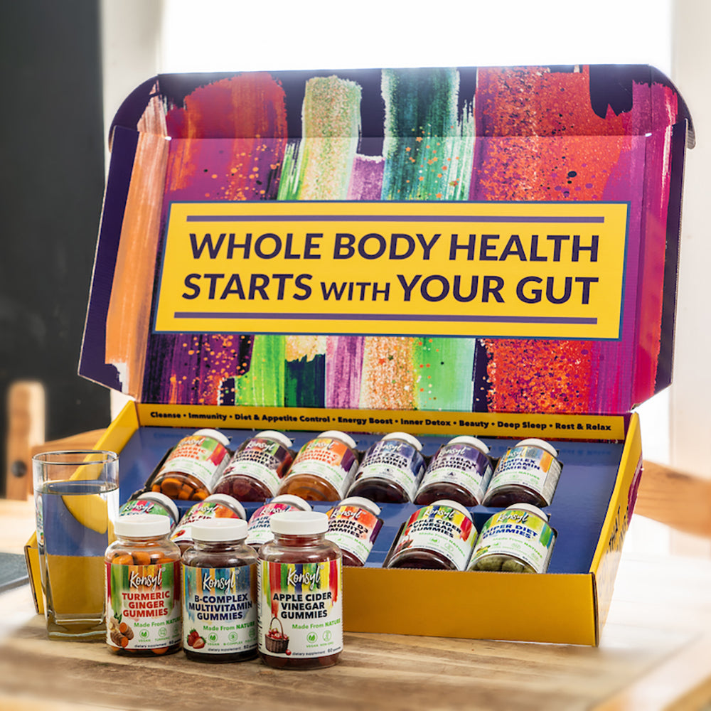 Konsyl Wellness Gummy Sample Box