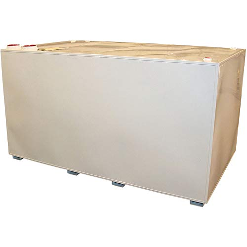 Midwest Industrial Tanks Double-Wall Storage Fuel Tank - 1000-Gallon, Model Number RTD-CC-1000-10-12
