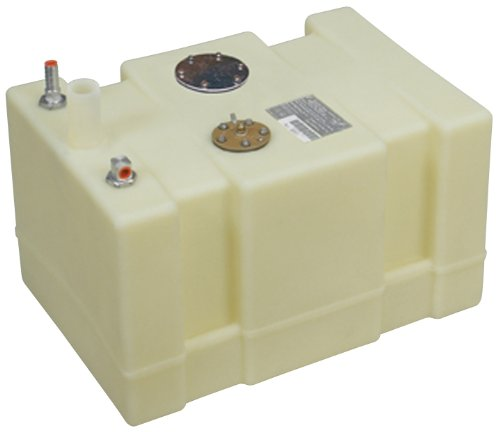 Moeller Marine 032612, Below Deck Permanent Fuel Tank, 12 Gallon - 20.00 in. L x 14.00 in. W x 14.50 in. H