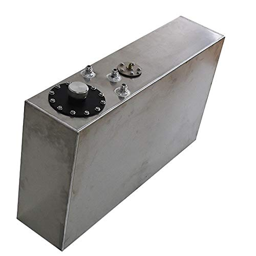 Slim Aluminum Race/drift Fuel Cell Gas Tank 17 Gallon 64L+level Sender