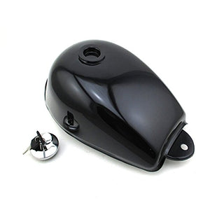 TC-Motor Black Fuel Gas Tank Cap Cover With Keys For Honda Mini Trail Monkey Motor Bike Z50 Z50A Z50J Z50R Motorcycle