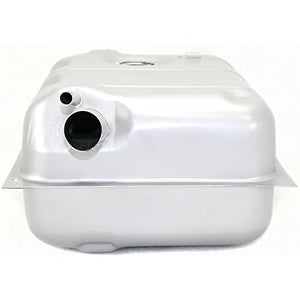 Fuel Tank compatible with Jeep CJ-Series 73-76 Steel Silver 15 Gallon Capacity/57 Liters 25-1/4 X 18-1/4 X 10-7/8 In.