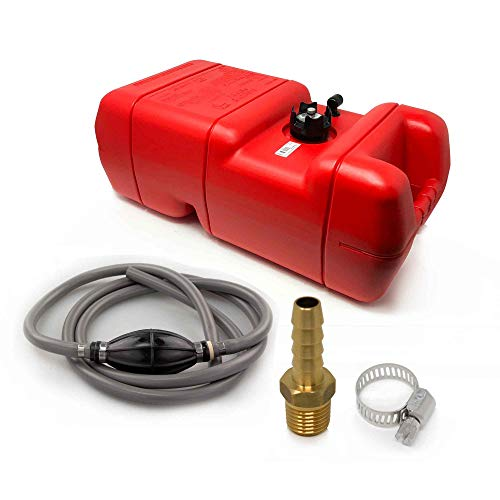 Five Oceans 6 Gallon Fuel Tank/Portable Universal Kit, 5/16 inches Hose FO-3312-C8
