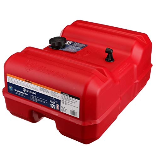 Attwood 8812LLP2 Epa Certified Portable Fuel Tank 12 gallon