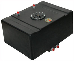 "RCI 16 GALLON DRAG RACING FUEL CELL W/SENDING UNIT AND 2"" SUMP, RACE GAS TANK"