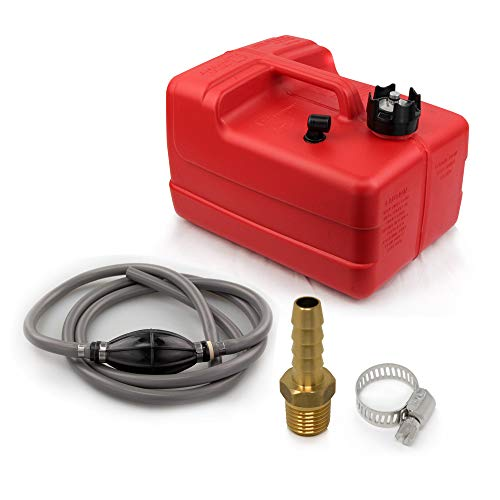 Five Oceans 3 Gallon Fuel Tank/Portable Universal Kit, 5/16 inches Hose FO-4129-C8-1