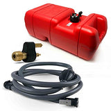 Five Oceans 6 Gallon Fuel Tank Portable Kit (OMC, Johnson & Evinrude), 5/16 inches FO-3312-C22