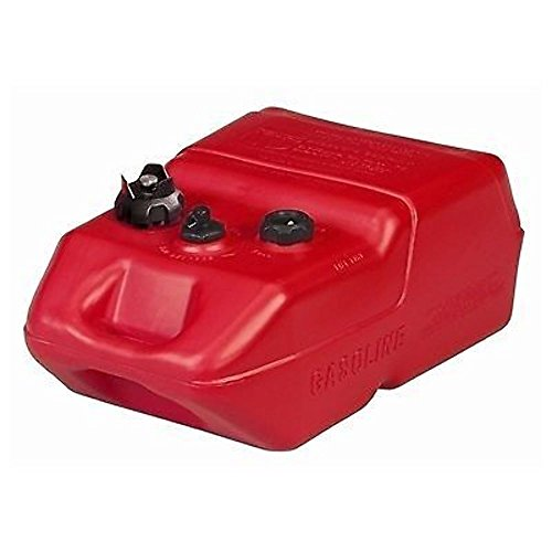 Moeller Marine EPA- Compliant Topside Fuel Tank - 6 Gallons, Low Profile, Model# 620049LP