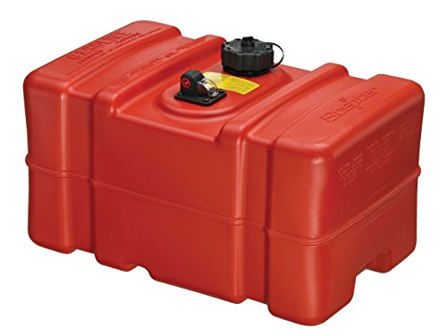 Scepter 12 Gallon Marine Fuel Tank 08668, Red