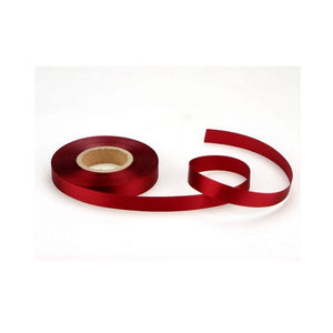 Satinband bordeaux 14 mm, 30 Meter - Kuchenwunder-Shop
