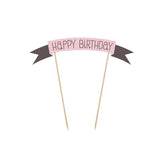 Cake Topper Sweets - Happy Birthday - Kuchenwunder-Shop