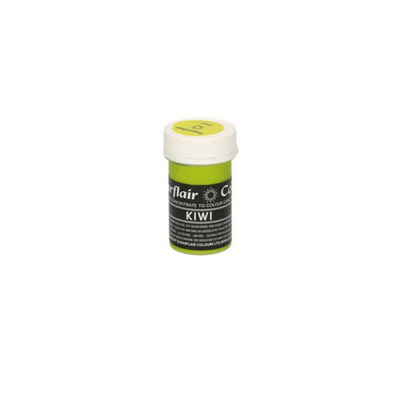 Sugarflair Paste Colour Pastel KIWI 25 g - Kuchenwunder-Shop