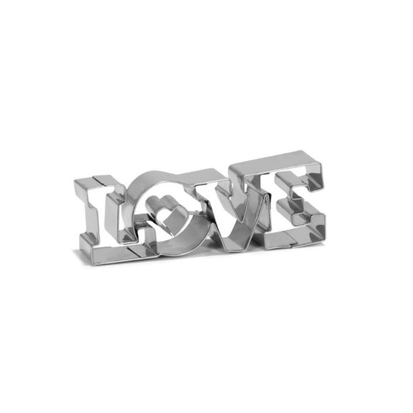 Patisse Cookie Cutter/Ausstecher LOVE 11 cm