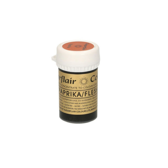 Sugarflair Paste Colour Pastel PAPRIKA 25 g - Kuchenwunder-Shop