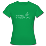 Happiness is a piece of cake - Frauen T-Shirt - Kelly Green