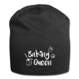 Baking Queen - Jersey-Beanie - Anthrazit