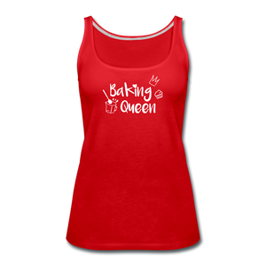 Baking Queen - Frauen Premium Tank Top - Rot