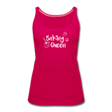 Baking Queen - Frauen Premium Tank Top - dunkles Pink