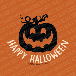 Happy Halloween Navajo Pumpkin Digital Download